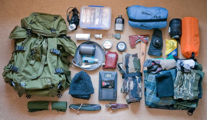 Bushcraft equipment