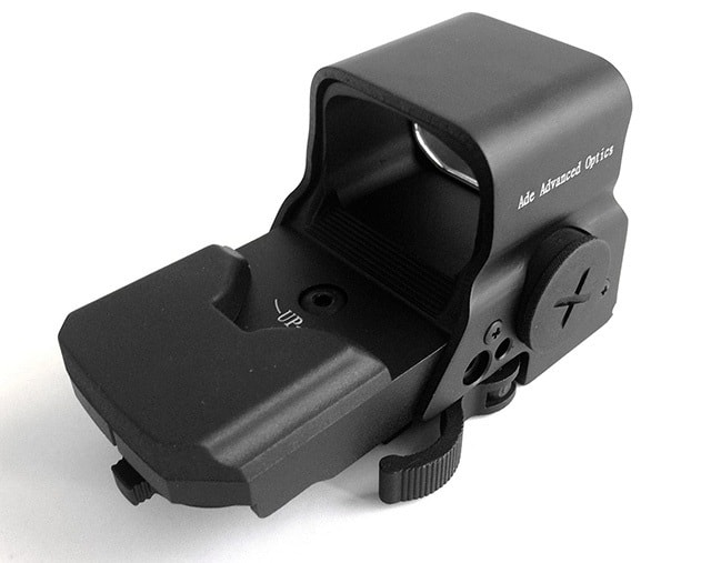Ade-Advanced-Optics-Crusader-8-Reticle-Green-and-Red-Dot-Reflex-Sight-with-QD-Mount